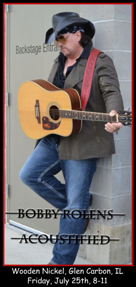 Bobby Rolens Acoustified 7-25-14