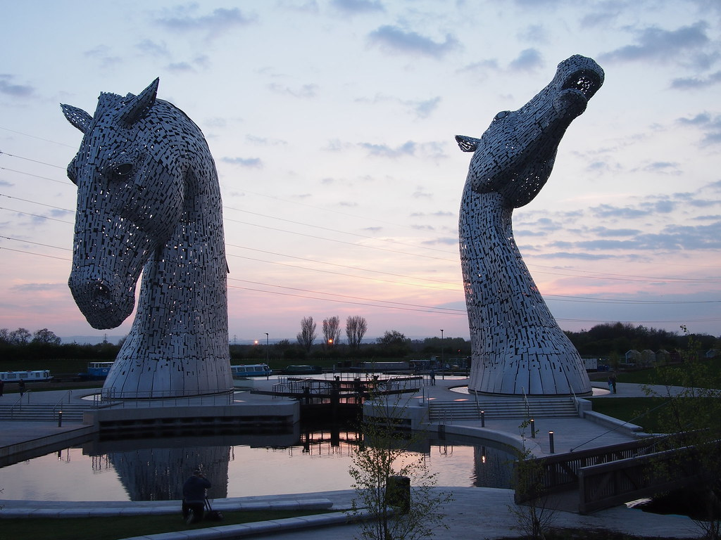 Kelpies First Sunset on Opening Day