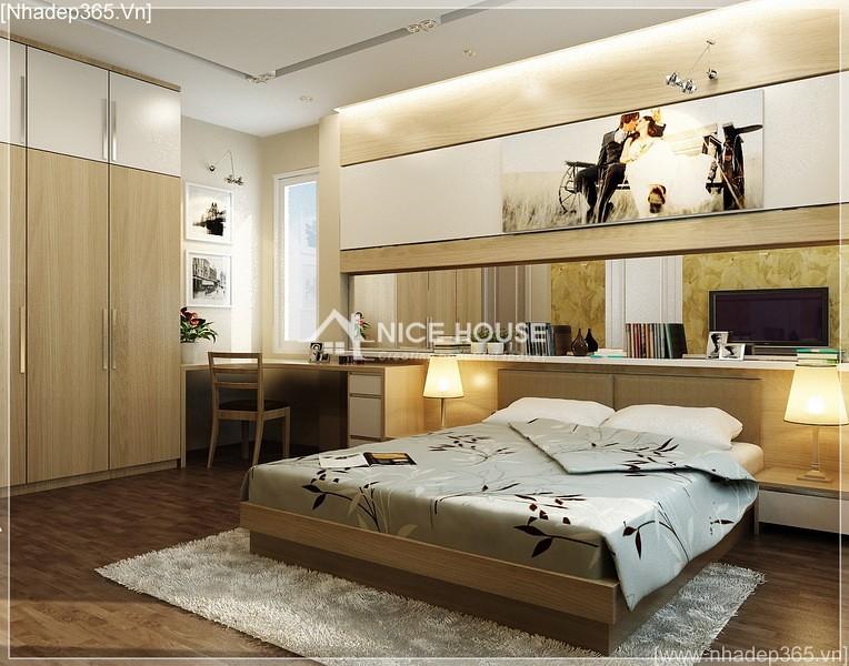 Thiết kế nội thất nhà anh Kiên - Hà Nội_1