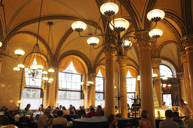Vienna Cafe Central interior