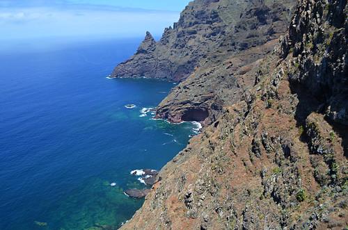 Atlantic Ocean, Anaga, Tenerife