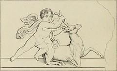 """Image from page 171 of """"Herculanum et Pompéi, recueil général des peintures, bronzes, mosaïques, etc., découverts jusqu'à ce jour, et reproduits d'apreès Le antichita di Ercolano, Il Museo borbonico, et tous les ouvrages analogues"""" (1870)"""