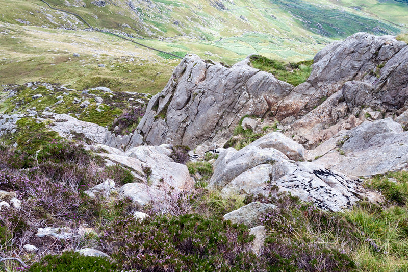 Ascent of Pen Yr Ole Wen