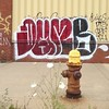 abstract #dyke (?) on piquette ave. between st. antoine & beaubien #detroit #graffiti