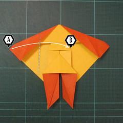 การพับกระดาษเป็นรูปปลาคาร์ฟ (Origami Koi Fish) 017