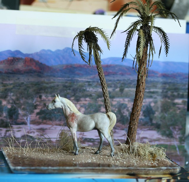 Stablemate Scale Desert Oasis Diorama