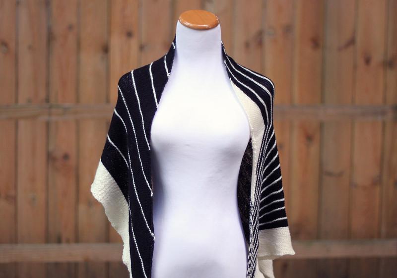 Stripe Study Shawl