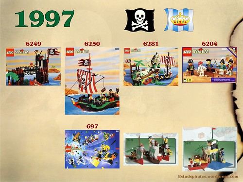 LEGO Pirates Timeline 1997