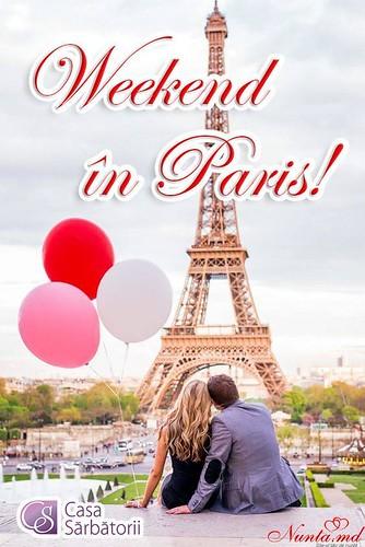 Complexul Casa Sărbătorii  > Weekend de miere la Paris!