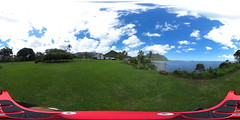 A view from the Waikane Congregational Church grounds  - a 360° Equirectangular VR