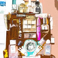 Used cosmetics shrine