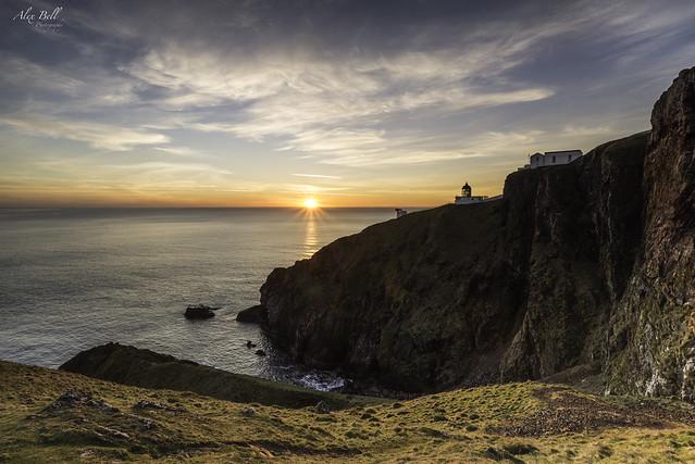 St Abbs at Sunrise