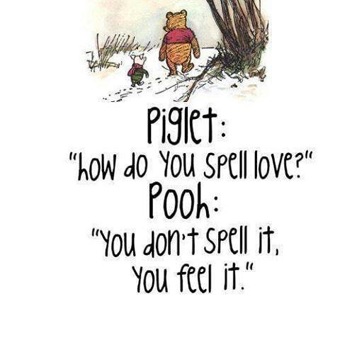 Love and Pooh Bear