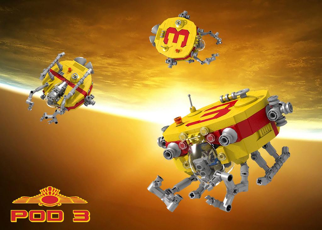 POD 3 (custom built Lego model)