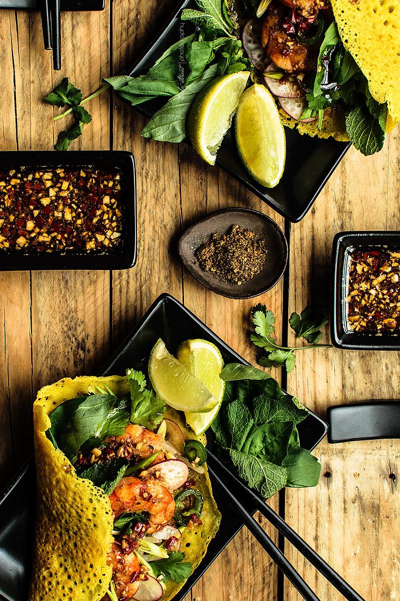 Bánh Xèo {Vietnamese crepes}