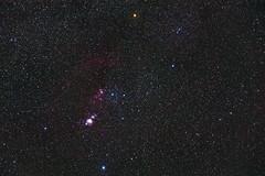 Orion constellation from Los Roques de Garcia, Parque Nacional del Teide, Tenerife
