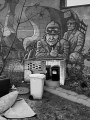 City Tales Part Two - Gdynia 4 April 2017 ( IPhone 6+ ) Comment: Part of streetart mural