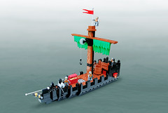 Pirate Ship by Legopard