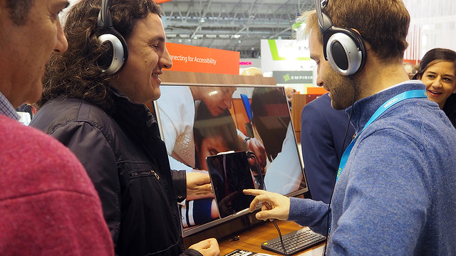 Visita al Mobile World Congress