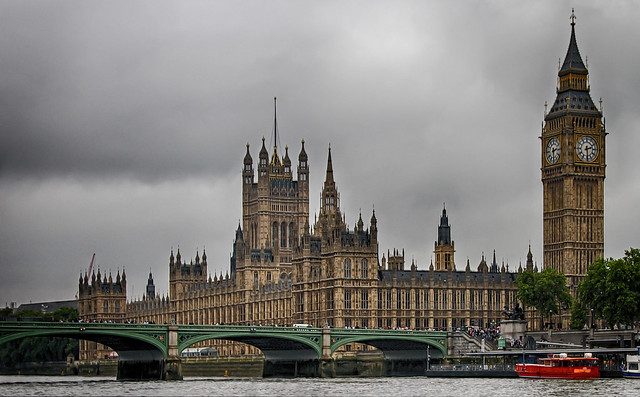 Dark Clouds Over Westminster