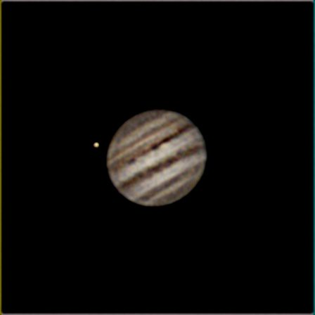 Jupiter ZWO120MC thru Celestron 8SE processed thru Registax 6