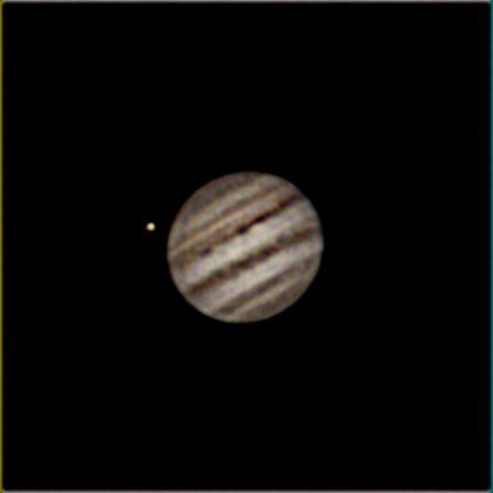 Jupiter ZWO120MC thru Celestron 8SE processed thru Registax 6
