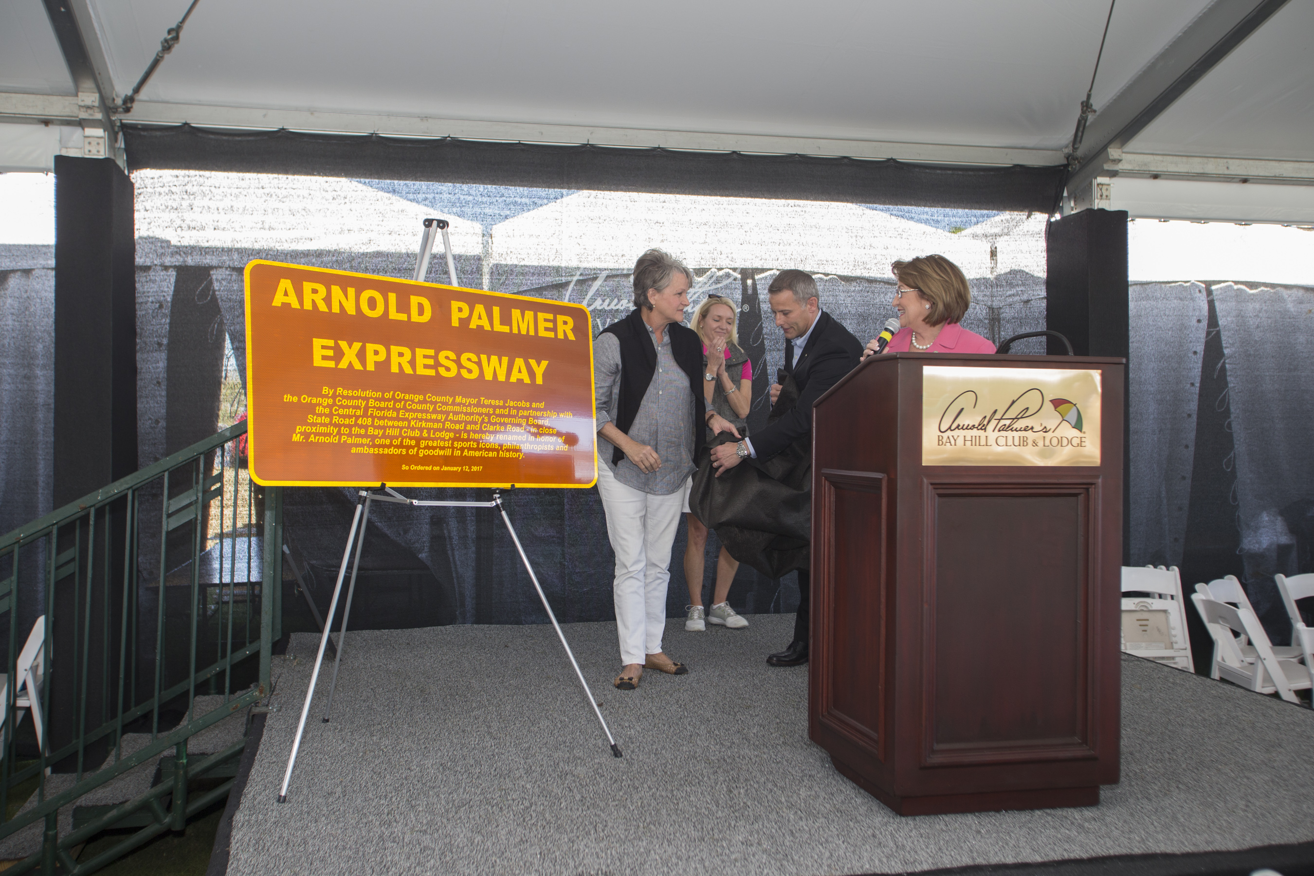 mayor jacobs honors the legacy of arnold palmer and unveils