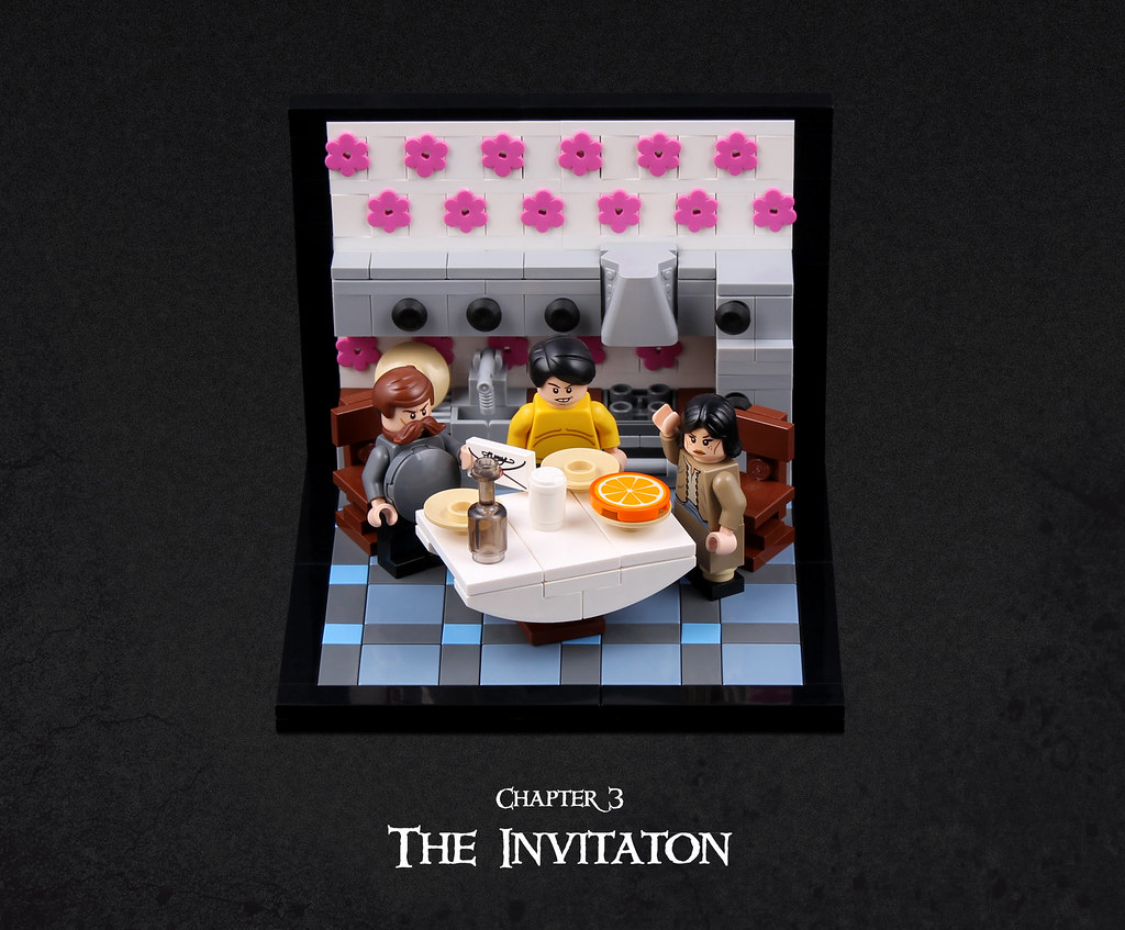 Harry Potter and the Goblet of Fire 36 (custom built Lego model)
