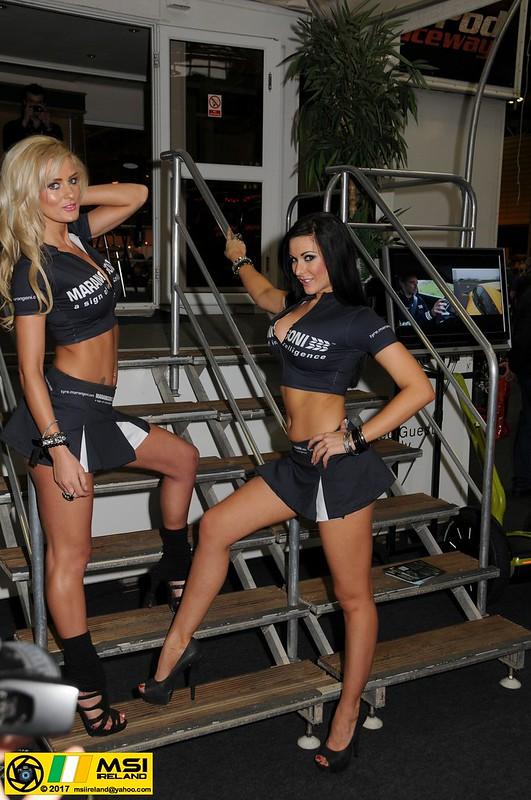 Marangoni promo girls Emma Kate Dawson and Jennifer Morgan @ Autosport_1_NEC_00_00 (27)