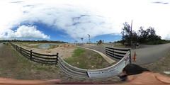The site of the historic former Marconi Telegraph Station in Kahuku, Ko'olauloa, Oahu, Hawaii - 360° Equirectangular VR