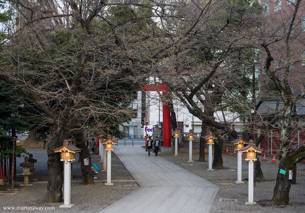 Hanazono Shrine in Shinjuku