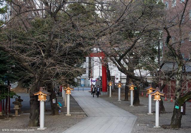 Hanazono Shrine in Shinjuku, Tokyo