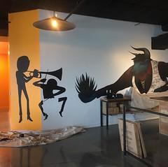 #candyteethcreative #silhouette #CascoAntiguo #mural #candyteethcreativeprocess