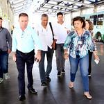 qua, 19/04/2017 - 10:32 - Ver. Cláudio da Drogaria Duarte durante visita técnica à estação de ônibus do BRT-Move Pampulha, com a finalidade de fiscalizar e avaliar suas condições.Foto: Rafa Aguiar