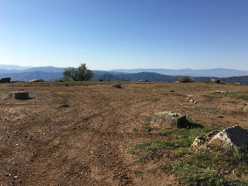 Sierra Pelona fire lookout remains
