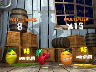 Funky Fruits Farm Gamble Feature