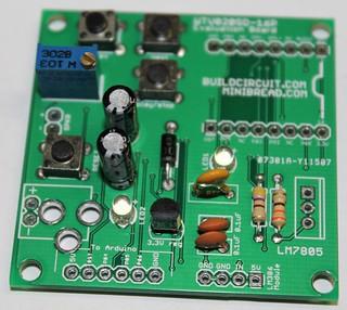 9 - Solder 500Ohm variable resistr