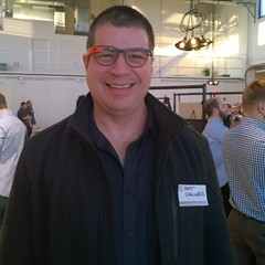 #OutInTech event, checking out Google Glass