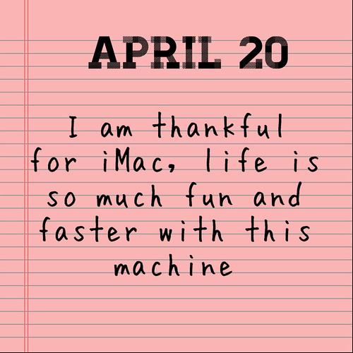 April Gratitude 20