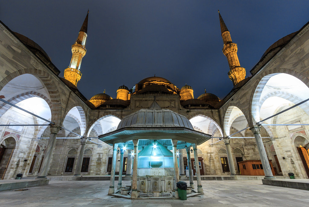 The Şehzade Mosque, Istanbul Turkey