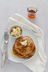 Ricotta Honey Pancakes 0010