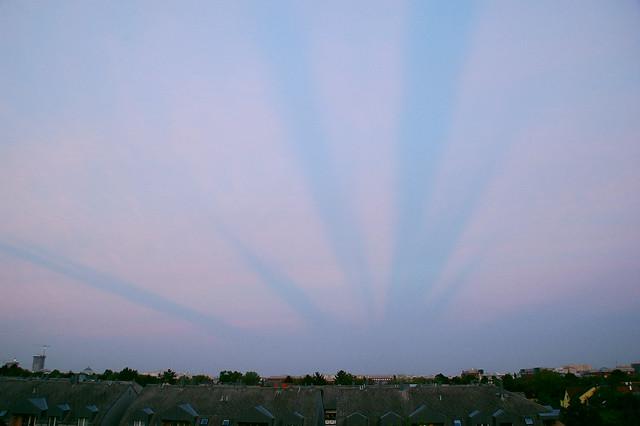 eigenartige Wolken