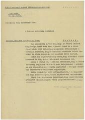II/9. A szolnoki honvéd állomásparancsnokság parancsnoka felszólítja a Baross Szövetség helyi elnökét, hogy a szövetség tagjai üzletük keresztény jellegét tüntessék fel.