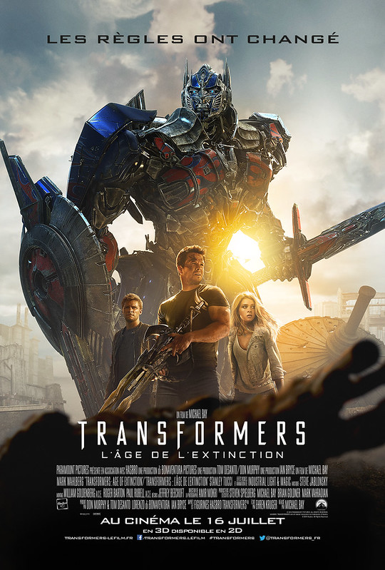 Transformers 4 France