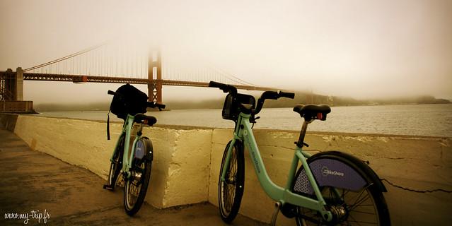 Promenade matinale vers le Golden Gate...