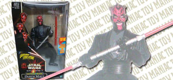 12 electronic Darth Maul