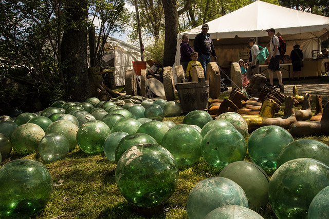 Brimfield - Glass Balls