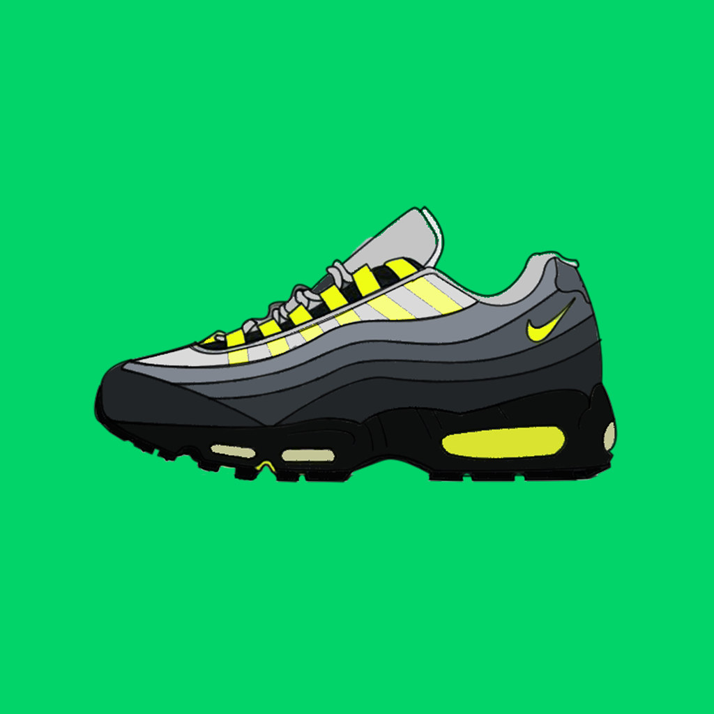 best sneakers 678ea 811ef discount air max 95 neon yellow ring 0f871 1c5df
