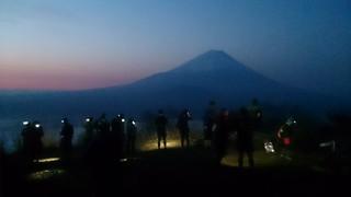 竜ヶ岳より2回目の朝。