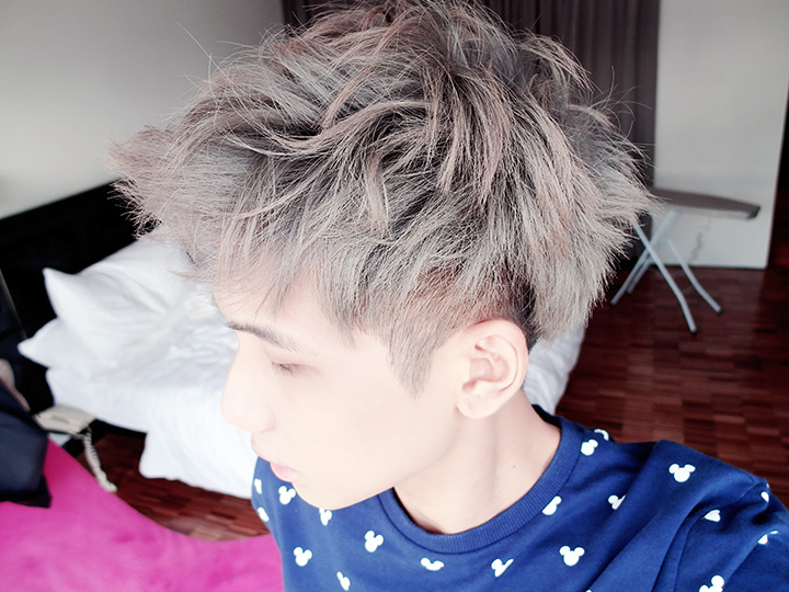 typicalben silver grey hair side view